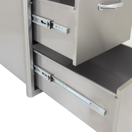 "Blaze 16"" Double Access Drawer close up"