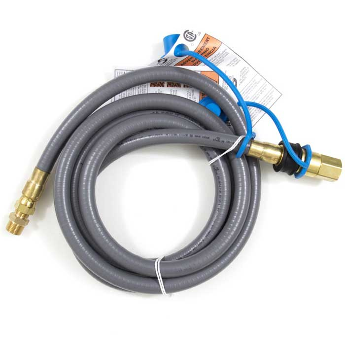 Blaze 1/2 Inch Natural Gas Hose With Quick Disconnect